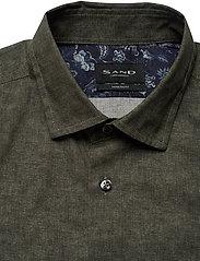SAND - 8669 - State N 2 Soft - basic skjorter - green - 2
