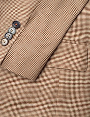 SAND - 6263 - Star Easy Normal - single breasted blazers - light camel - 3