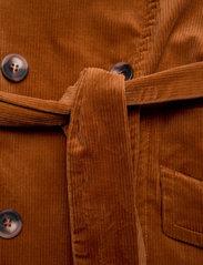 SAND - 3394 - Adda - trenchcoats - orange - 4