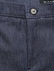 SAND - 3395 - Dori A Turnup - broeken med straight ben - medium blue - 2