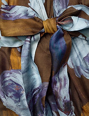 SAND - 3390 - Rummer - robes portefeuille - dark camel - 3
