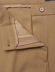 SAND - 3596 - Sasha Tailored - broeken med straight ben - light camel - 3