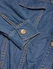 SAND - R/Denim - Margot - blouses met lange mouwen - blue - 3