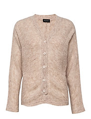 5194 - Silje Cardigan - LIGHT BEIGE