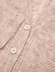 SAND - 5194 - Silje Cardigan - cardigans - light beige - 2