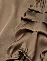 SAND - Double Silk - Berenice Dress - robes midi - light camel - 3