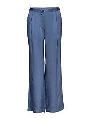 Double Silk - Sasha Flex Pleated - MEDIUM BLUE
