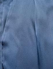 SAND - Double Silk - Sasha Flex Pleated - vida byxor - medium blue - 2
