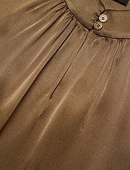 SAND - Double Silk - Prosi Top - blouses zonder mouwen - light camel - 2