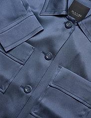 SAND - Double Silk - Kaela - lichte jassen - medium blue - 2