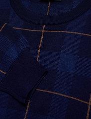 SAND - 5469 - Iq - rundhalsad - medium blue - 2