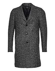 7419 - Retro Coat - BLACK