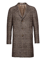 7421 - Retro Coat - DARK CAMEL