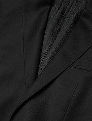 SAND - Cashmere Flannel - Star Napoli Norm - single breasted blazers - black - 2