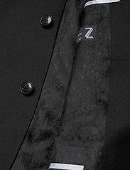 SAND - Cashmere Flannel - Star Napoli Norm - single breasted blazers - black - 4