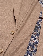 SAND - Flannel Jersey - Star Easy PP Norma - single breasted blazers - light camel - 4