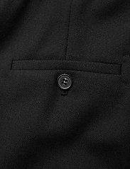 SAND - 2558 - Haim - broeken med straight ben - black - 4