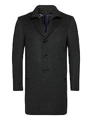 Cashmere Coat - Sultan Tech - CHARCOAL