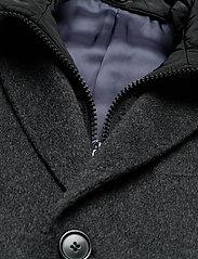 SAND - Cashmere Coat - Sultan Tech - ullrockar - charcoal - 5