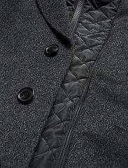 SAND - Cashmere Coat - Sultan Tech - ullrockar - charcoal - 8