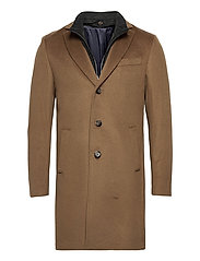 Cashmere Coat - Sultan Tech - LIGHT CAMEL