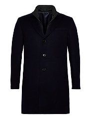 Cashmere Coat - Sultan Tech - MEDIUM BLUE