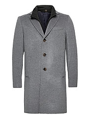 Cashmere Coat - Sultan Tech - MEDIUM GREY