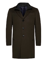 Cashmere Coat - Sultan Tech - OLIVE/KHAKI