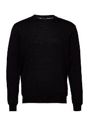 Merino Embroidery - Iq - BLACK