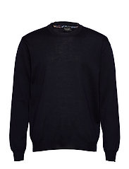 Merino Embroidery - Iq - DARK BLUE/NAVY