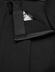 SAND - 2548 - Malhia Wide - broeken med straight ben - black - 2