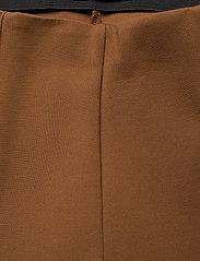 SAND - 2548 - Malhia Wide - broeken med straight ben - light camel - 3