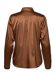 SAND - 3176 - Latia - overhemden met lange mouwen - brown - 3