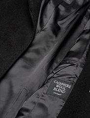 SAND - Cashmere Coat W - Parker 3 - ullkappor - black - 5