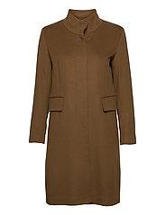 Cashmere Coat W - Parker 3 - BROWN
