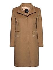 Cashmere Coat W - Parker 3 - CAMEL