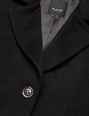 SAND - Cashmere Coat W - Britni 2 - black - 2