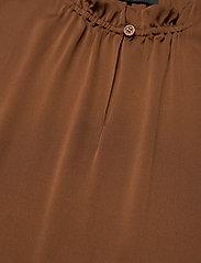 SAND - Satin Stretch - Raya F - blouses zonder mouwen - copper - 2