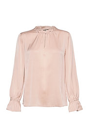 Satin Stretch - Raya F Sleeve - NUDE