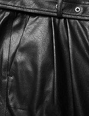 SAND - Vegan Leather - Haim - skinnbyxor - black - 2