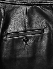 SAND - Vegan Leather - Haim - skinnbyxor - black - 4