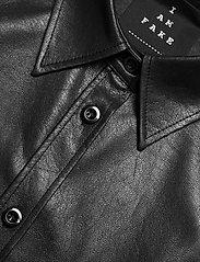 SAND - Vegan Leather - Sandie New - overhemden met lange mouwen - black - 2