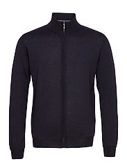 Merino Embr. - Ingram - DARK BLUE/NAVY