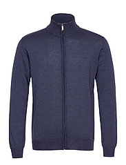 Merino Embr. - Ingram - MEDIUM BLUE