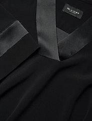 SAND - Crepe Satin Back - Ambar - robes de jour - black - 2