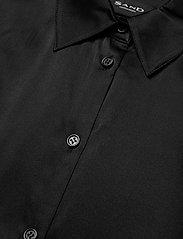 SAND - 3176 - Latia - overhemden met lange mouwen - black - 2