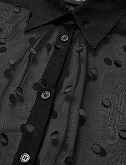 SAND - 3179 - Latia - long sleeved blouses - black - 2
