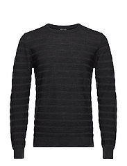 Merino Stripe - Iq - CHARCOAL
