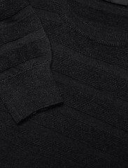 SAND - Merino Stripe - Iq - basic strik - charcoal - 2