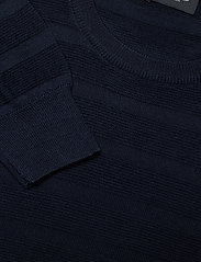SAND - Merino Stripe - Iq - basic strik - dark blue/navy - 2